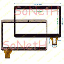 "Touch screen BRONDI Surfing TAB 10.1 3G 10,1"" Vetro Digitizer Nero"
