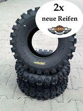 2x 20x10-9 A-027 20x10.00-9 SUNF 6PR NEU ATV Quad Buggy Geländereifen
