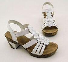 Rieker Damen-Sandalen mit Kunstleder für die Freizeit