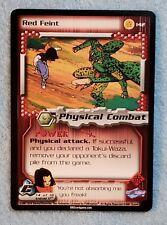 2001 Dragonball Z CCG Cell Saga #142 RED FEINT Rare M/NM