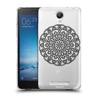 Custodia Cover Morbida Trasparente Anukku® Design Mandala 5 Per Modelli Xiaomi