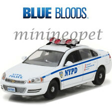 GREENLIGHT 86509 BLUE BLOODS 2010 CHEVROLET IMPALA NYPD POLICE CAR 1/43 WHITE