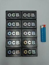 OCB-Premium noir courtes 10 carnets de 100 feuilles rouler+1 briquet offert