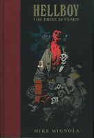 HELLBOY: THE FIRST 20 YEARS HARDCOVER Mike Mignola Dark Horse HC Movie