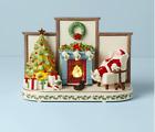 Lenox Holiday Cozy Christmas Lite Up Musical Santa Centerpiece New 2021 893499