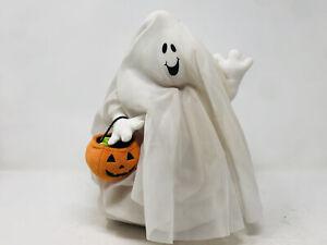 "Hallmark Animated Halloween Ghost 11"" Plush Dances & Sings ""I Want Candy"""