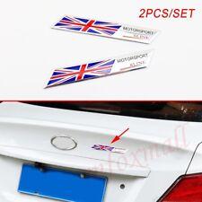 Great Britain England Nation Flag Badge Emblem Sticker Decal Auto Parts Stripes