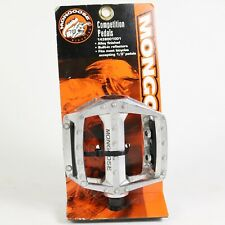 """Mongoose Competition Pedals, 1/2"""" - Bike BMX, New NOS"""