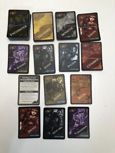 D&D WRATH OF ASHARDALON Miniature Dungeons Dragons Lot Of Cards