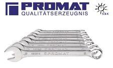 Ringmaulschlüsselsatz 12 teilig Schlüsselweite 10-32 mm Form A CV-Stahl PROMAT