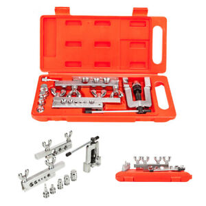 HVAC Flaring and Swaging Tool Kit Flares OD Soft Refrigeration Copper Tubing Red