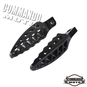Motorcycle Male Mount Footrest Foot Pegs 45° For Harley Dyna FXD FXDF FXDB FXDWG