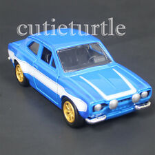 Jada Fast and Furious Brian's Ford Escort 1:32 Diecast Car 98674-CP4 Blue