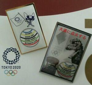 Olympic Pin Tokyo Olympic Pin Tokyo Olympic Media Pin OlympicRingsAndOtherThings