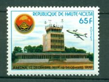Burkina Faso Scott #522 MNH Air Safety ASECNA Airplanes Aviation $$