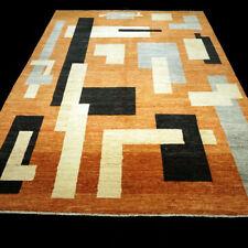 Designer Orient Teppich 294 x 206 cm Handgeknüpft Rot Modern Carpet Rug Alfombra