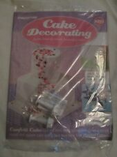 Deagostini Cake Decorating Magazine ISSUE 129 WITH 2 STAR PLUNGER CUTTERS