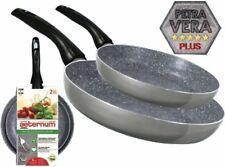 Aeternum Set 2 padelle Easy Petra 24 e 28 cm alluminio Petra Vera