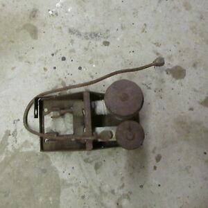 Triumph TR4 Clutch & Brake cylinders & bracket