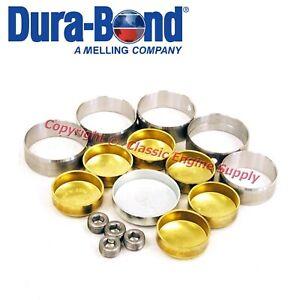 New Performance Cam Bearings & Brass Freeze Plugs Chrysler 383 400 413 426 440