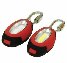 EVEREADY COB Lights Carabiners Camping Cycling Walking Safety Torch 8 Cr2032 LED