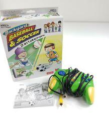 2005 BACKYARD BASEBALL & SOCCER Video-Game TV Plug & Play - Tested