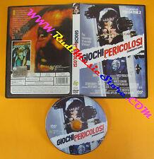 DVD film GIOCHI PERICOLOSI 2014 Stephen Hopkins QUADRIFOGLIO QF4075 no vhs (D2)