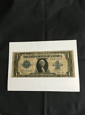 USA ONE ( 1 ) DOLLAR SILVER CERTIFICATE SERIES 1923 BANKNOTE.