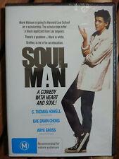 Soul Man DVD C Thomas Howell Rae Dawn Chong R0 Postage