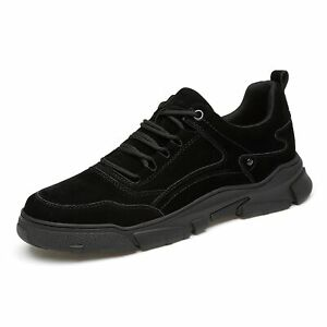 Men's Access Taller Athletic Shoes Height Increasing Sneakers Baseball Elevator