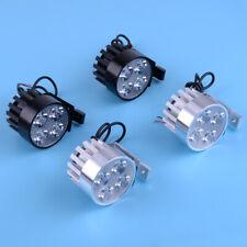2x Super Bright Motorcycle Car Truck LED Work Daylight Spot 12W Light Head Light