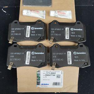 New GM OEM Rear Brembo  PADS  CTS-V Camaro SS ZL1 171-0882  89047744