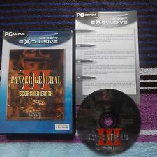 PANZER GENERAL III 3 SCORCHED EARTH: PC-CD V.G.C. ( turn based strategy game )