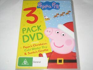 PEPPA PIG 3 pack dvd DVD R4 NEW/SEALED