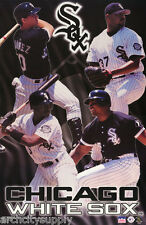 POSTER: MLB BASEBALL: 2000 CHICAGO WHITE SOX COLLAGE - FREE SHIP- #5111  LP32 J