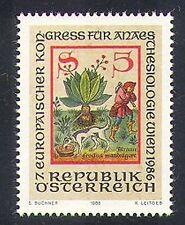 Austria 1986 Mandrake/medico/sanitario/PIANTE MEDICINALI/NATURA/CODEX/Cane 1 V n37407