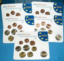 2006 5 x 9 monete 29,40 euro Germania allemagne alemania germany Holstentor