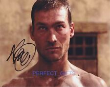 ANDY WHITFIELD SPARTACUS SIGNED 10X8 PP PHOTO