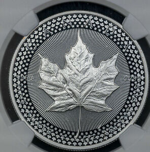 2019 CANADA MAPLE LEAF $5 U.S. SET EARLY RELEASES NGC MODIFIED PF70 1OZ SILVER