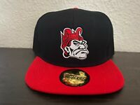 SDSU SAN DIEGO STATE VINTAGE THROWBACK MONTY MONTEZUMA AZTECS RED BLACK HAT NEW