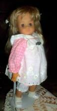 "Vintage Hans Gotz Modell Toddler Doll 18"" West Germany w Original Clothes"
