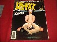 HEAVY METAL September 1983 Adult Illustrated Magazine FN