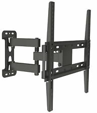TV Full Motion Mount Bracket Tilt Swivel 32 38 40 42 48 50 52 55 Inch LED LCD