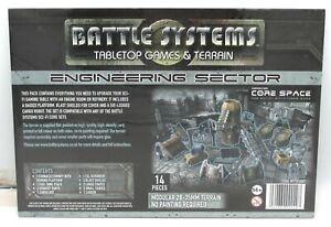 Battle Systems BSTSFE007 Engineering Sector (Sci-Fi Terrain) Core Space Scenery