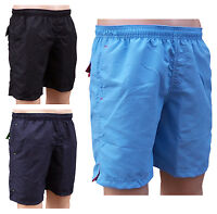 ACCLAIM Bergen Mens Sports Light Swimming Mesh Liner Shorts Contrast Trim