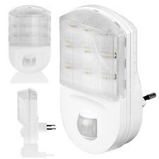 LED Nachtlicht mit Bewegungsmelder für Steckdose Lampe Notlicht 9 LED QUALITÄT
