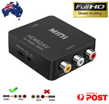 HDMI to RCA Composite AV CVBS 3rca Video Cable Converter 1080p Downscaling AU