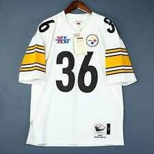 100% Authentic Jerome Bettis 2005 Steelers Mitchell Ness NFL Jersey Size 52 2XL