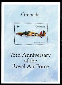 Grenada 1993 Aviation Anniversaries $6 Spitfire m/s (MNH)