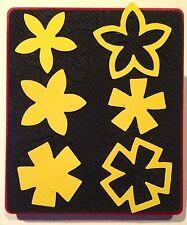 Sizzix Large Red Original Die Cutter ~ CHARMS, FLOWERS #2 ~ Card/Scrapbook Cuts